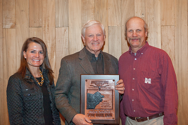 Town Creek Farm's Milton Sundbeck Named Top Cattleman